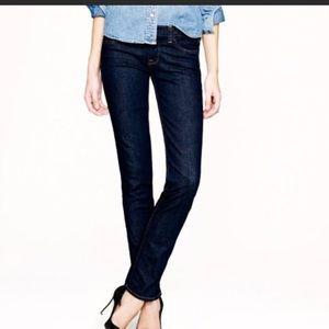 NWT!! JCrew matchstick dark wash jeans size 31R
